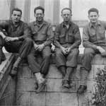 Corporals Scheld, Crist, unknown and Rogers